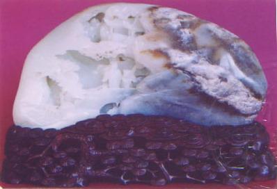 白玉籽《放鹤亭》