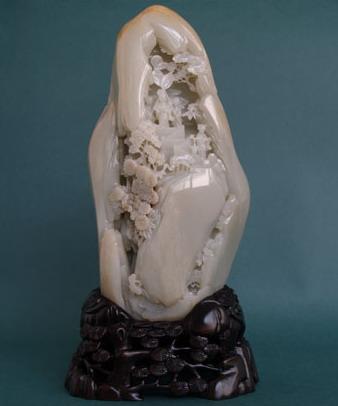 白玉籽《瑶台步月》