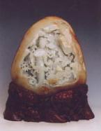 白玉籽《宝钗扑蝶》