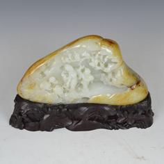 白玉籽《鸟语花香》