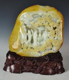 白玉籽《秋韵图》